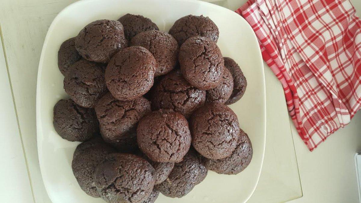Kakaolu kurabiye tarifi